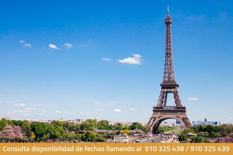 París, 3, 4 o 5 días románticos en hotel de 2* con vuelo incluido (i/v) para 2 personas.