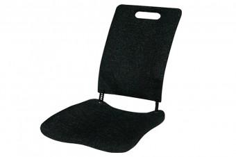 Alivie sus dolores lumbares y de espalda con el asiento con respaldo Backfriend