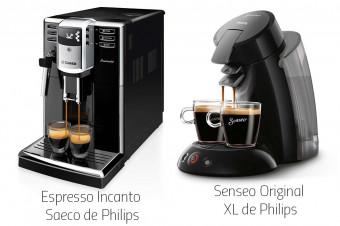 Deguste el mejor café de la mano de Philips con sus cafeteras Senseo Original o Incanto Saeco