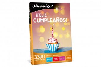 Wonderbox: Feliz Cumpleaños en un solo click, una experiencia, un regalo o una escapada