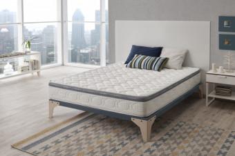 Descanso de lujo renovado sobre el colchón de gran comodidad Luxury Premium de firmeza media