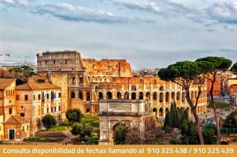 Roma, 3, 4, 5 o 6 días en hotel de 3* o 4* con vuelo incluido (i/v) para 2 personas