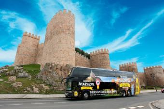 Busvisión: Maravíllese con la belleza monumental de ciudades como Segovia y Ávila con i/v