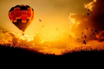 Globos Viento Zero: Disfrute del cielo con un agradable paseo en globo para 1 o 2 personas
