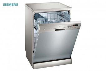 Siemens:Lavavajillas iQ100 Acero inoxidable para 12 cubiertos SN215I00CE