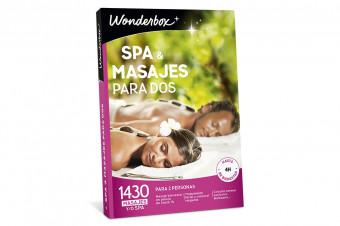 Wonderbox: Spa & masaje para 2, una gran experiencia para disfrutar o regalar en un solo click