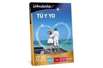 Wonderbox: Tú y yo, una maravillosa experiencia, un regalo o una escapada en un solo click