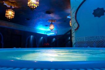 Relaje sus 5 sentidos en los baños Medina Aljarafe con circuito termal para 2 y opción a masaje