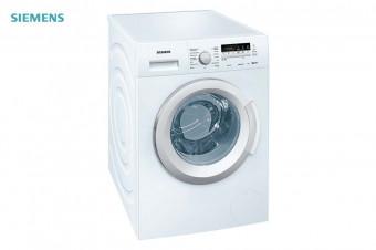 Siemens: Lavadora con carga frontal de 8 kg Blanco WM14K268EE