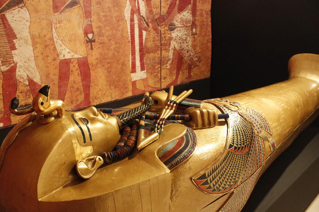 ¡Tutankhamon y sus tesoros llegan a Madrid!