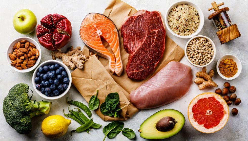 Alimentos para ganar masa muscular a partir de los 50